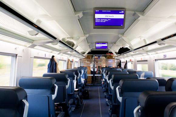 German Intercity Express (ICE) train