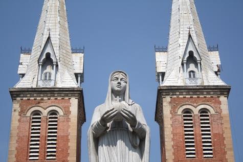Notre Dame Cathederal, Saigon (HCMC) Vietnam