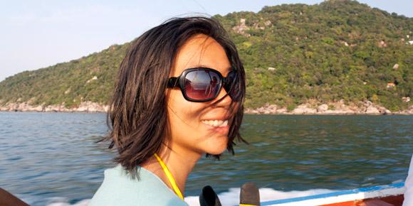 Lily - Longtail boat water taxi ride, Nang Yuan, Koh Tao, Thailand