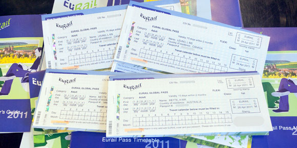 Eurail Europe rail passes