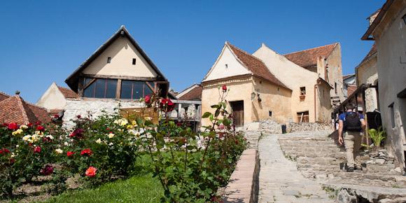 Rasnov Citadel courtyard, Transylvania