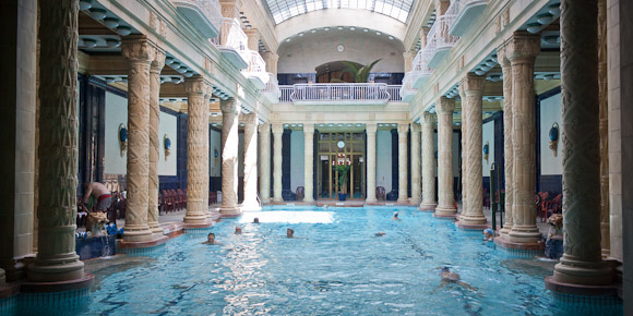 Indoor pool and thermal bath, Gellert Thermal Bath and Spa, Budapest