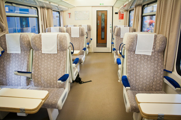 Eurocity Train - first class