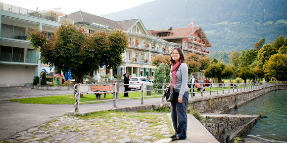 Day stop at Interlaken, Switzerland