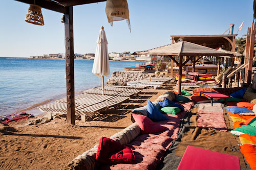 Dahab Beach Cafe, Red Sea, Egypt