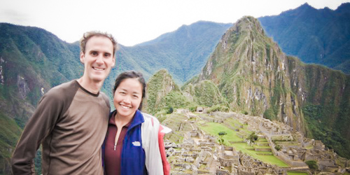 Jack and Jill Travel', at Muchu Picchu