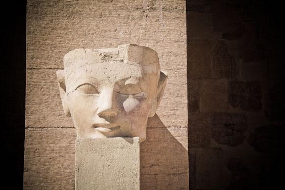 Queen Hatshepsut statue, Luxor, Egypt