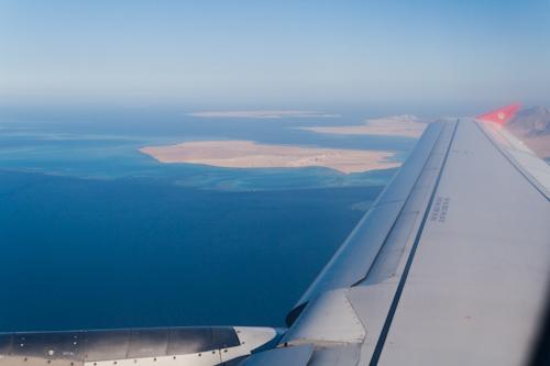 Flight - Sharm el Sheikh, Egypt to Amman, Jordan