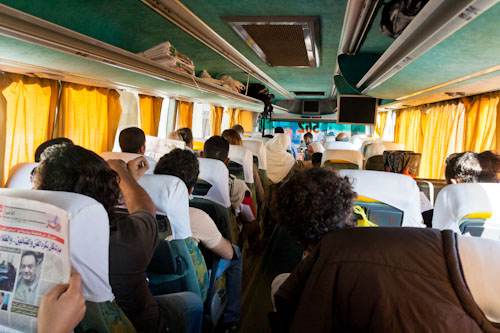 Bus from Sharm el Sheikh to Dahab