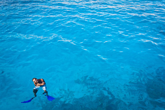 Snorkel tour guide in Red Sea