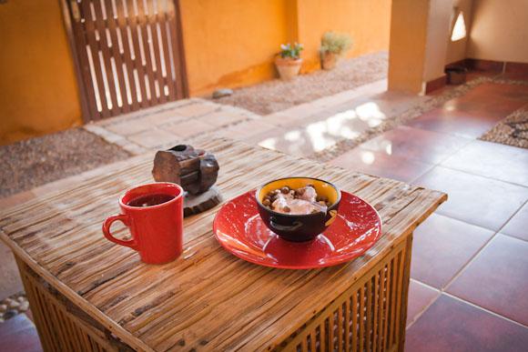 Sinai Old Spices - mini terrace outside of room