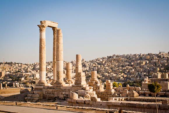 Temple of Hercules on the Citadel, Amman