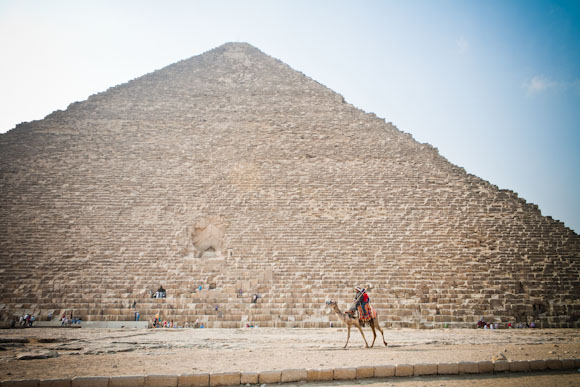 Great Pyramid of Giza, Cairo, Egypt.