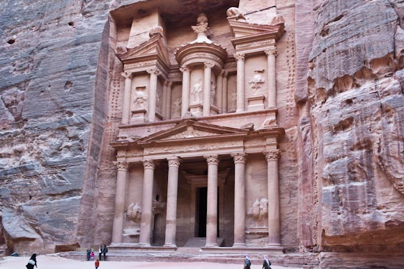 Treasury at Petra, Jordan.
