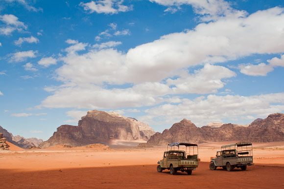 Wadi Rum (wadi = valley, rum = high/elevated), Jordan