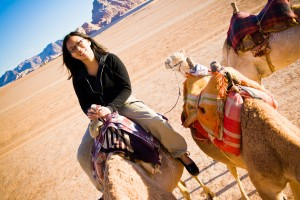 Camel ride in Wadi Rum desert, Jordan - Lily Leung