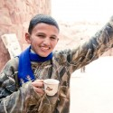 A local boy in Petra, Jordan